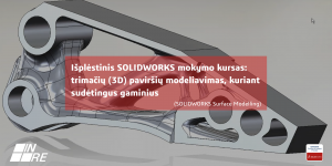 Surface modeling mokymai