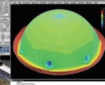 Birštono gydyklos kupolo įtempių ir deformacijų būvio analizė