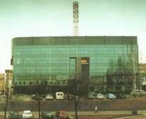 BITĖS GSM centrinio pastato ryšio antenų bokštas