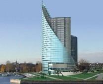 """Biurų ir komerciniai pastatai """"CITADEL-7"""", """"Saules akmens"""" Rygoje"""