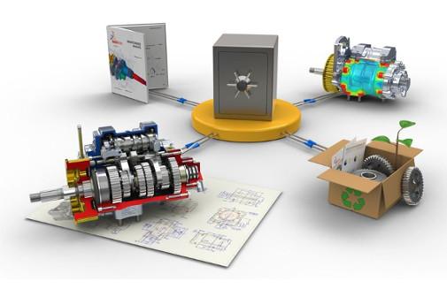 PDM-PLM-sistemos