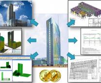 Vilnius Savivaldybės pastato informacinis modelis skirtas statinio eksploatacijai (6D)