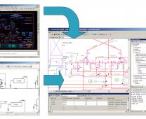 Popierinių ir DWG formato brėžinių konversija į Intergraph SmartPlant P&ID išmanius brėžinius