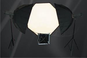 Shadeless lighting system