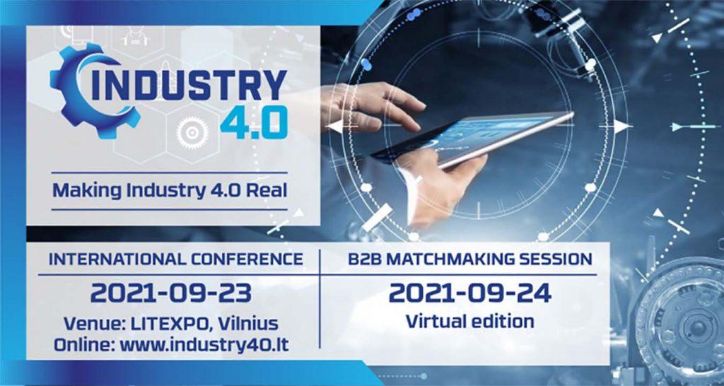 """Kviečiame atvykti į konferenciją """"Making Industry 4.0 Real"""""""